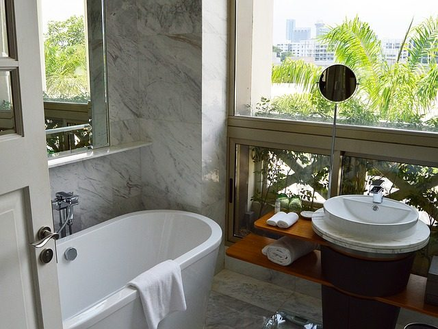 bagno hotel di lusso